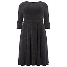 Buy Studio 8 Agnetta Jersey Dress, Grey Online at johnlewis.com