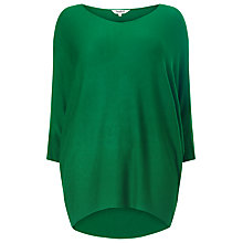 Buy Studio 8 Beth Batwing Jumper, Emerald Online at johnlewis.com