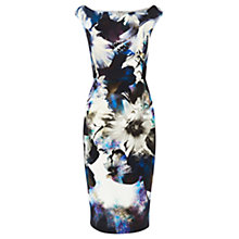 Buy Coast Venice Print Teegan Dress, Multi Online at johnlewis.com
