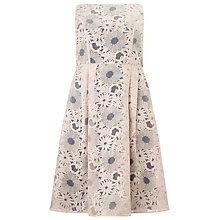 Buy Studio 8 Alida Organza Floral Dress, Blush/Grey Online at johnlewis.com