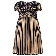 Buy Studio 8 Carina Tapework Dress, Nude/Navy Online at johnlewis.com
