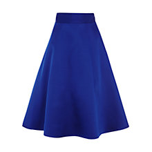 Buy Coast Coro A-Line Skirt, Cobalt Online at johnlewis.com