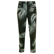 Buy Mint Velvet Kiya Print Capri Trousers, Multi Online at johnlewis.com