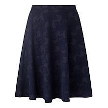 Buy Studio 8 Alison Floral Jacquard Skirt, Navy Online at johnlewis.com