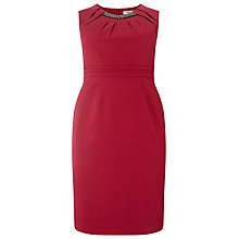 Buy Studio 8 Liana Embellished Dress, Raspberry Online at johnlewis.com