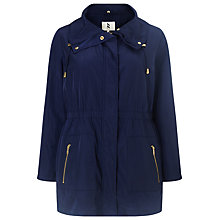 Buy Studio 8 Polina Parka Coat, Navy Online at johnlewis.com
