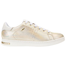 Buy Geox Jaysen Flat Lace Up Trainers Online at johnlewis.com