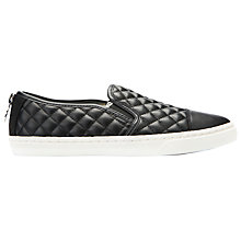 Buy Geox New Club Material Slip On Trainers Online at johnlewis.com