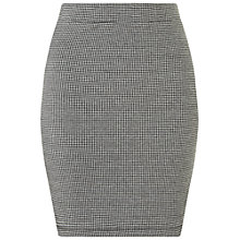 Buy Miss Selfridge Dogtooth Mini Skirt, Multi Online at johnlewis.com