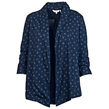 Buy Fat Face Callington Daisy Print Cover Up, Indigo Online at johnlewis.com