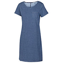 Buy Fat Face Tenby Stripe Dress, Indigo Online at johnlewis.com