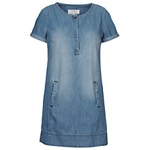 Buy Fat Face Tenby Denim Dress, Denim Online at johnlewis.com