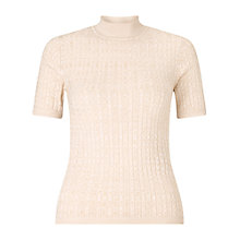 Buy Miss Selfridge Cable Rib Jumper Online at johnlewis.com