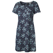 Buy Fat Face Tenby Midnight Floral Dress, Indigo Online at johnlewis.com