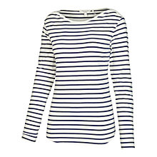 Buy Fat Face Breton Stripe T-Shirt Online at johnlewis.com