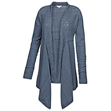 Buy Fat Face Callie Waterfall Cotton Cardigan Online at johnlewis.com