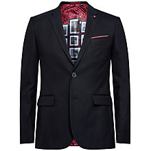 Buy Ted Baker Bandman Mini Design Jacket Online at johnlewis.com