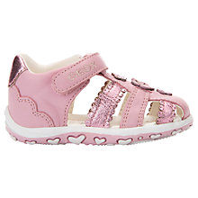 Buy Geox Children's Baby Bubble Shoes, Pink Online at johnlewis.com