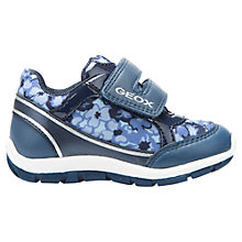 Buy Geox Children's Shaax Baby Rip-Tape Shoes, Navy Online at johnlewis.com