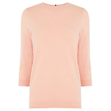 Buy Warehouse Chevron Stitch Jumper Online at johnlewis.com