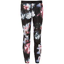 Buy Ted Baker Odra Ethereal Posie Trousers, Black Online at johnlewis.com
