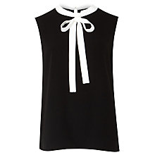 Buy Ted Baker Olia Bow Tie Crepe Top Online at johnlewis.com