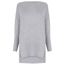 Buy Warehouse Oversized Ribbed Back Jumper Online at johnlewis.com