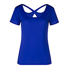 Buy Lorna Jane Camilla Excel Top, Magnetic Blue Online at johnlewis.com