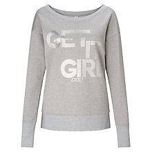 Buy Lorna Jane Starlight Sweatshirt, Grey Marl Sparkle Online at johnlewis.com