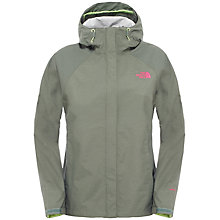 Buy The North Face Venture Waterproof Women's Jacket, Green Online at johnlewis.com
