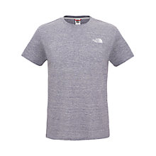 Buy The North Face T-Shirt, Moonlight Blue Online at johnlewis.com