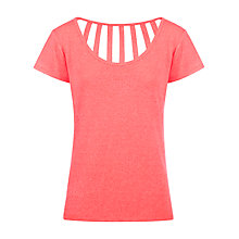 Buy Lorna Jane Felix Top, Coral Online at johnlewis.com