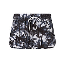 Buy Lorna Jane Offbeat Running Shorts, Black/White Online at johnlewis.com