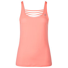 Buy Lorna Jane Caprera Excel Tank Top, Orange Online at johnlewis.com
