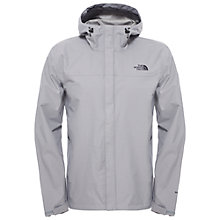 Buy The North Face Venture Hooded Waterproof Men's Jacket, Grey Online at johnlewis.com