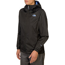 Buy The North Face Quest Waterproof Women's Jacket, Black Online at johnlewis.com