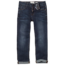 Buy Fat Face Girls' Jodie Boyfriend Jeans, Blue Online at johnlewis.com
