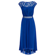 Buy Coast Lori Lee Lace Hi-Lo Dress, Cobalt Online at johnlewis.com