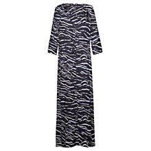 Buy French Connection Maxi Beach Shirt Dress, Tapir Wave Online at johnlewis.com