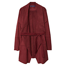 Buy Violeta by Mango Waterfall Faux Suede Jacket Online at johnlewis.com