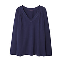 Buy Violeta by Mango V-Neck Cotton T-Shirt Online at johnlewis.com