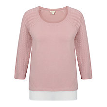 Buy Celuu Fay Chiffon Hem Jumper Online at johnlewis.com