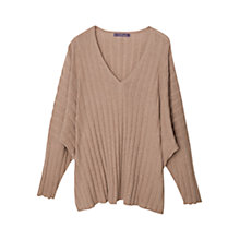 Buy Violeta by Mango Striped Cotton Jumper Online at johnlewis.com