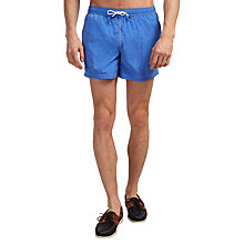 Buy Hackett London Polka Dot Swim Shorts, Blue Online at johnlewis.com