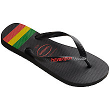 Buy Havaianas Top Stripe Flip Flops Online at johnlewis.com
