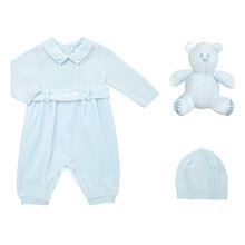 Buy Emile et Rose Baby Gatsby Romper And Hat Set Online at johnlewis.com