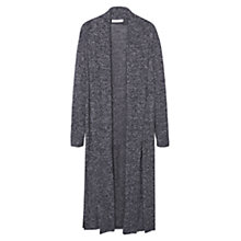 Buy Mango Flecked Fine-Knit Longline Cardigan Online at johnlewis.com
