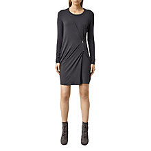 Buy AllSaints Albi Sleeve Dress Online at johnlewis.com