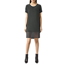 Buy AllSaints Aroma Silk-Blend Dress Online at johnlewis.com