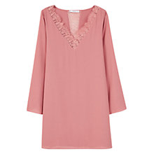 Buy Mango Lace Panel Dress Online at johnlewis.com